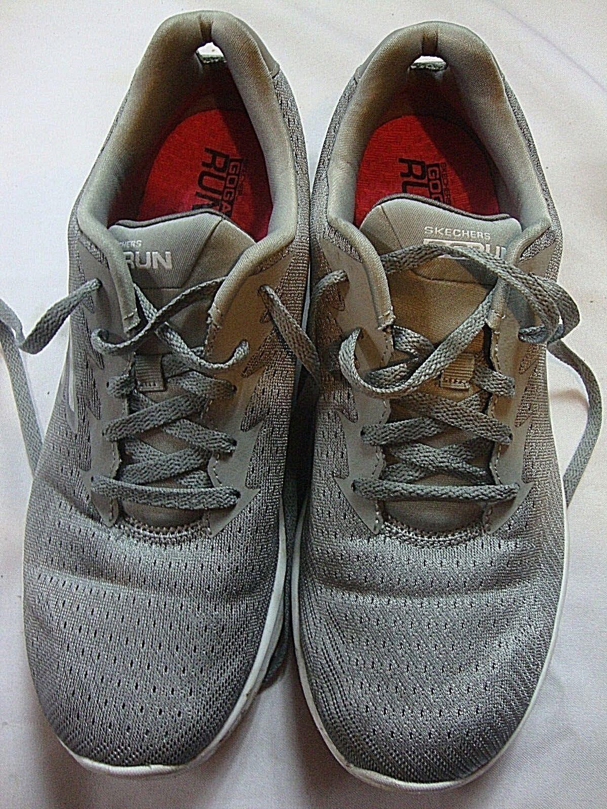 Skechers Quick Fit GOGA Run Gray Pink Running Schuhes Damenschuhe USA Größe 11 EUR 41