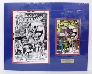Lg-Original-Production-Art-AMAZING-SPIDER-MAN-91-cover-JOHN-ROMITA-art-matted