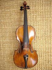 interessante alte 4/4 Geige Violine toller Klang sof.spielbereit Herkunft unbek.
