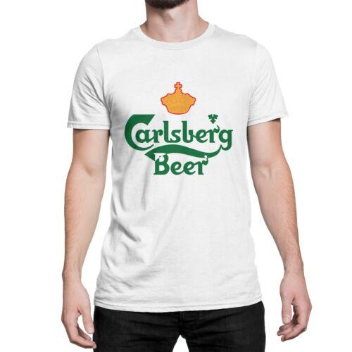 Carlsberg 3 Style Blanc T Shirt