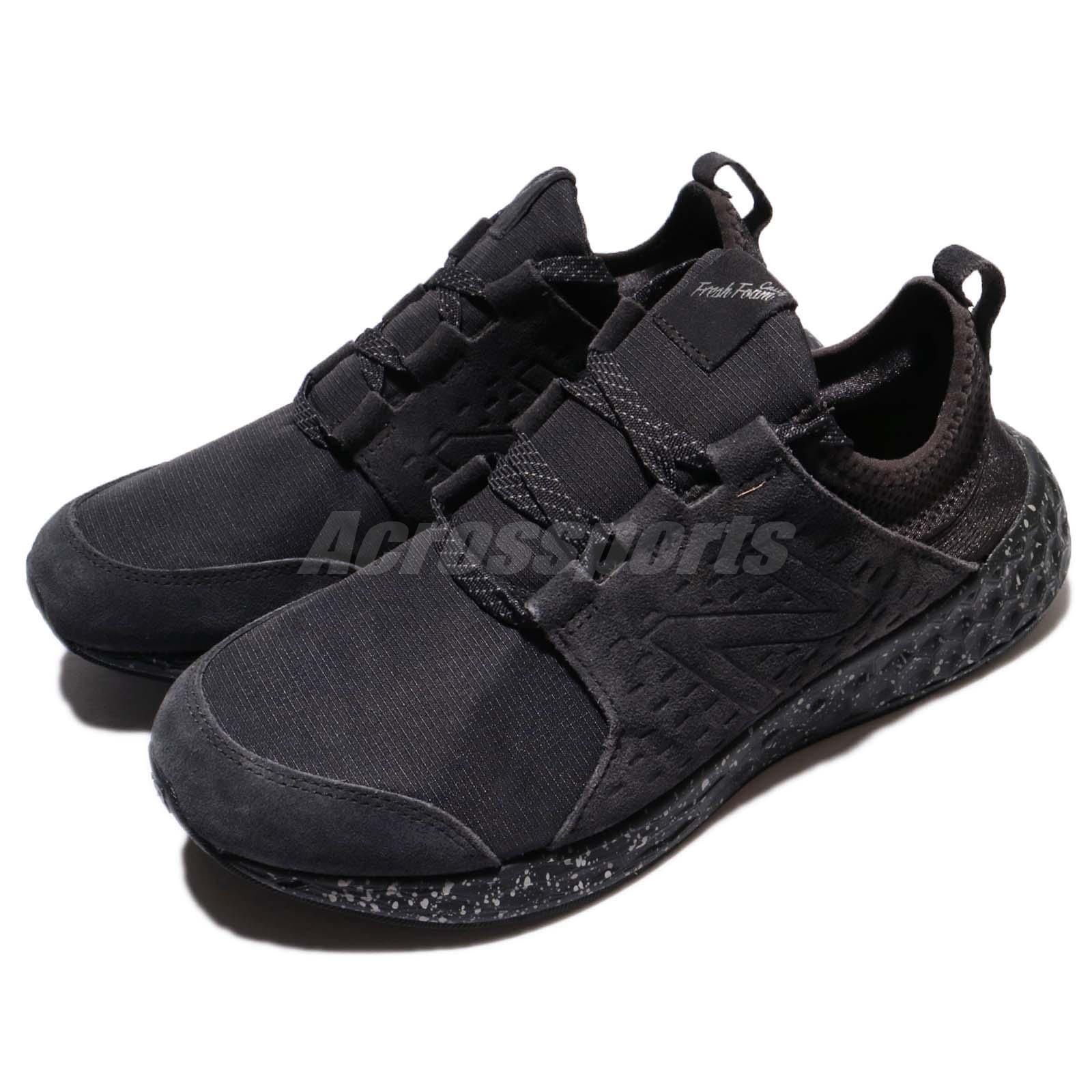 New Balance MCRUZE 2E Gris Wide Fresh Foam Cruz Gris 2E Noir Hommes Running Chaussures MCRUZE2E 60306d