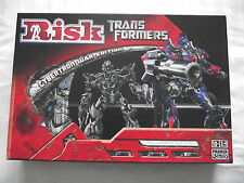 RISK / BOARD GAME /  TRANSFORMERS CYBERTRON WAR EDITION / EXCELLENT