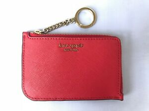 Image result for KATE SPADE I-ZIP CARD HOLDER CAMERON HOT CHILI
