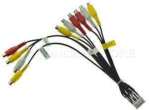 s l300 kenwood dnx 9960 dnx9960 genuine a v in out rca harness *pay today kenwood dnx9960 wiring harness at gsmx.co