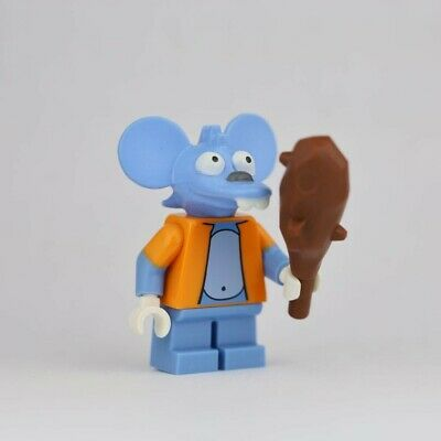 Genuine Lego 71005 Minifigure The Simpsons Series 1 no.13 Itchy