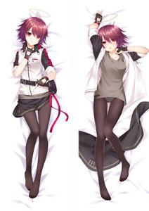 Arknights Eyjafjalla Anime Girl Dakimakura Hugging Body Pillows Case Cover
