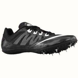 45a0ebc3c26 Details about Nike Zoom Rival S 7 Sprint sz 9 Black White 616313 001 Track  Spike
