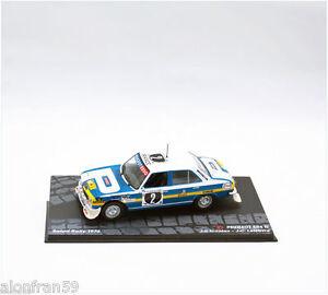 RALLY-IXO-DIECAST-1-43-Peugeot-504-Nicolas-Lefebvre-1976-RAL091