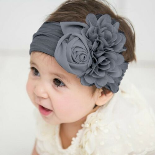 Baby Headbands Chiffon Flower Soft Lace Hair Band Hairbands Hair Accessories