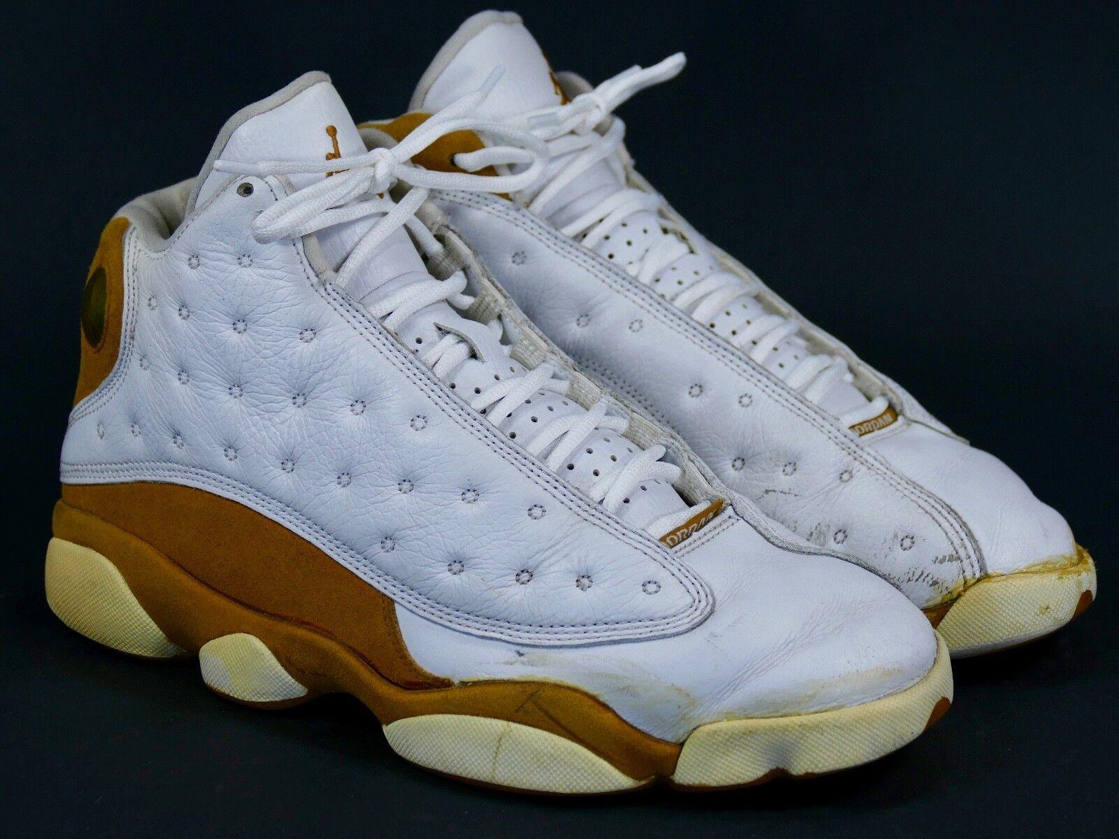Jordan XIII Sz 8.5 Wheat - air retro 2004 13 curry ginger xi xii xiv 309259-171
