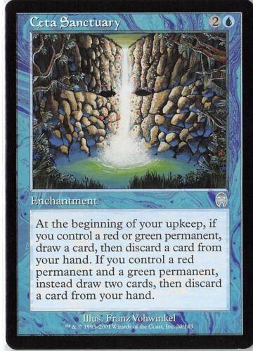 Ceta Sanctuary *PLAYSET* Magic MtG x4 Apocalypse SP