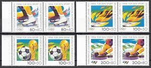 BRD 1994 Mi. Nr. 1717-1720 waagerechtes Paar Postfrisch LUXUS!!! (33957)