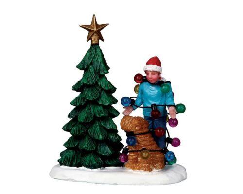 - Christmas Tangle 02757 Weihnachtsdorf Lemax Figuren 403