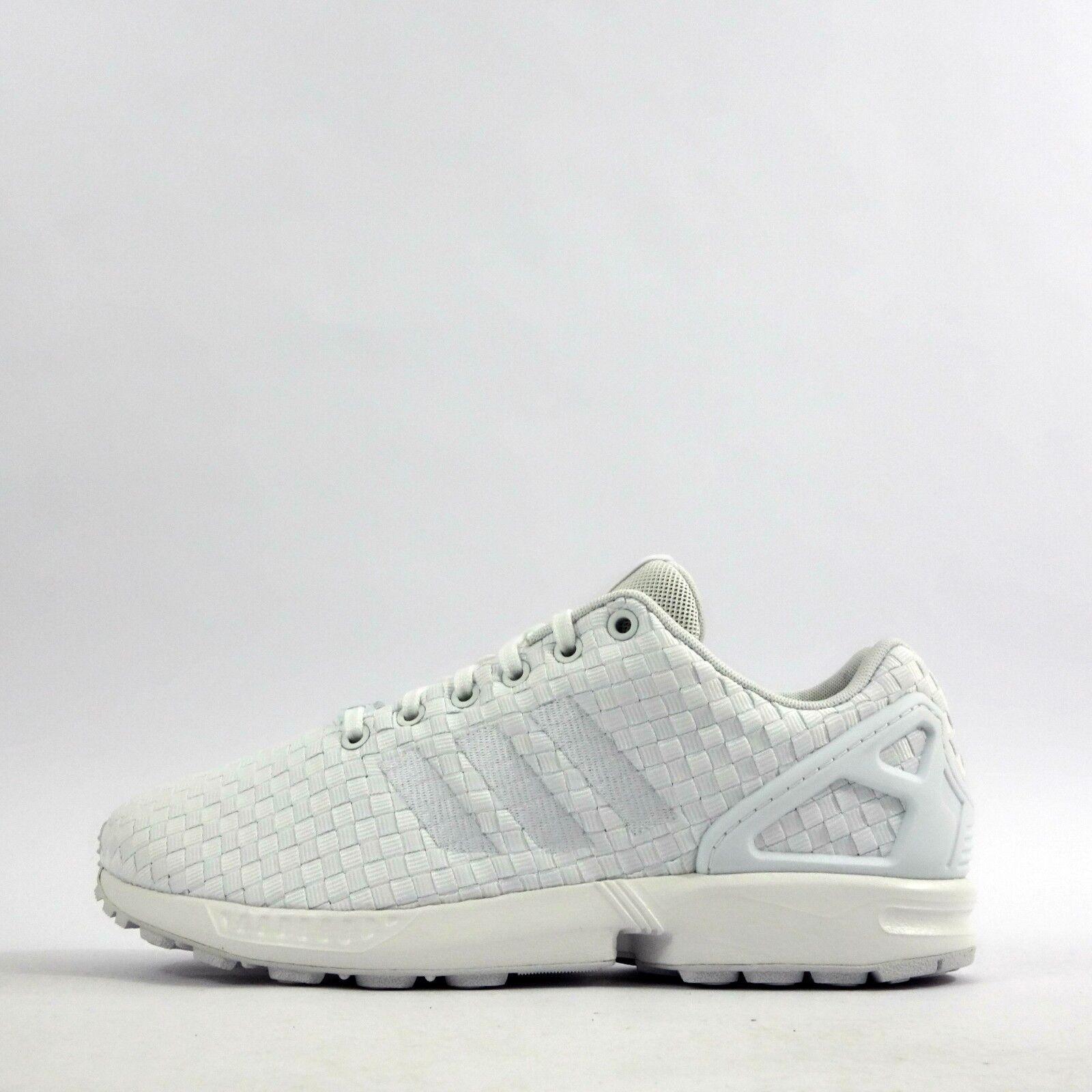 adidas blanche zx flux