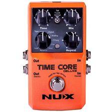 NUX Time Core Deluxe Multi Delay Pedal - 8 Delays und Looper