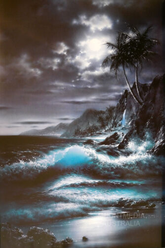 XAVIER FERNANDEZ NEW LICENSED ART MOONRISE POSTER 61X91CM
