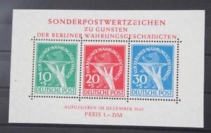 Berlin-Block-1-Waehrungsgeschaedigte-postfrisch-bestens-geprueft-Schlegel-BPP