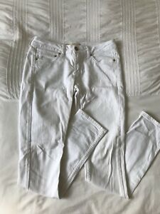 White Topshop L32 Baxter W28 Jeans xfxYOHq8