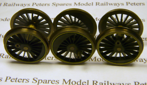 Hornby X9216 Fowler 4P Tank 2-6-4 Driving Wheel Set For LMS Maroon Lined