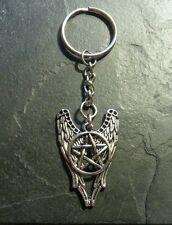 Slayer Demon Wings Pentagram Key Chain Pendant Charm Collectible Gift Present