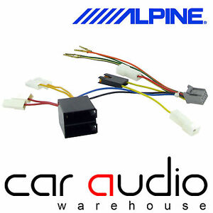 alpine 10 pin iso head unit replacement car stereo radio wiring image is loading alpine 10 pin iso head unit replacement car