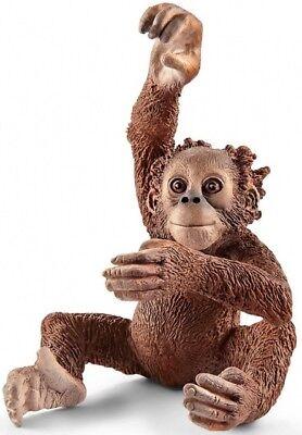 Schleich 14776 orang-orangután joven 5,5 cm serie animales salvajes