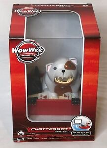 Details about WowWee Chatterbot Dog/Cat Interactive Animated Talking Jokes  Speaker PC/MAC