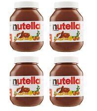 Nutella - Crema spalmabile alle Nocciole - 4 Barattoli da 925g - Ferrero