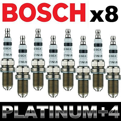 Bosch 6704 Platinum Spark Plug Chevrolet Cadillac GMC +More Pack of 4