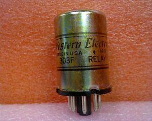 Western-Electric-303F-Relay-Vintage-NOS