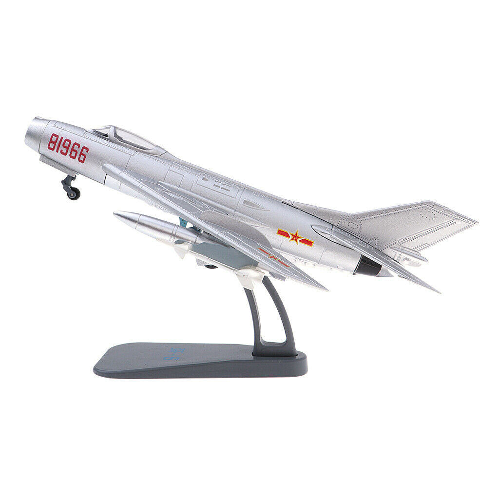 Shenyang J-6 Farmer 1 72 Scale War Aircraft Diecast Model & Display Stand