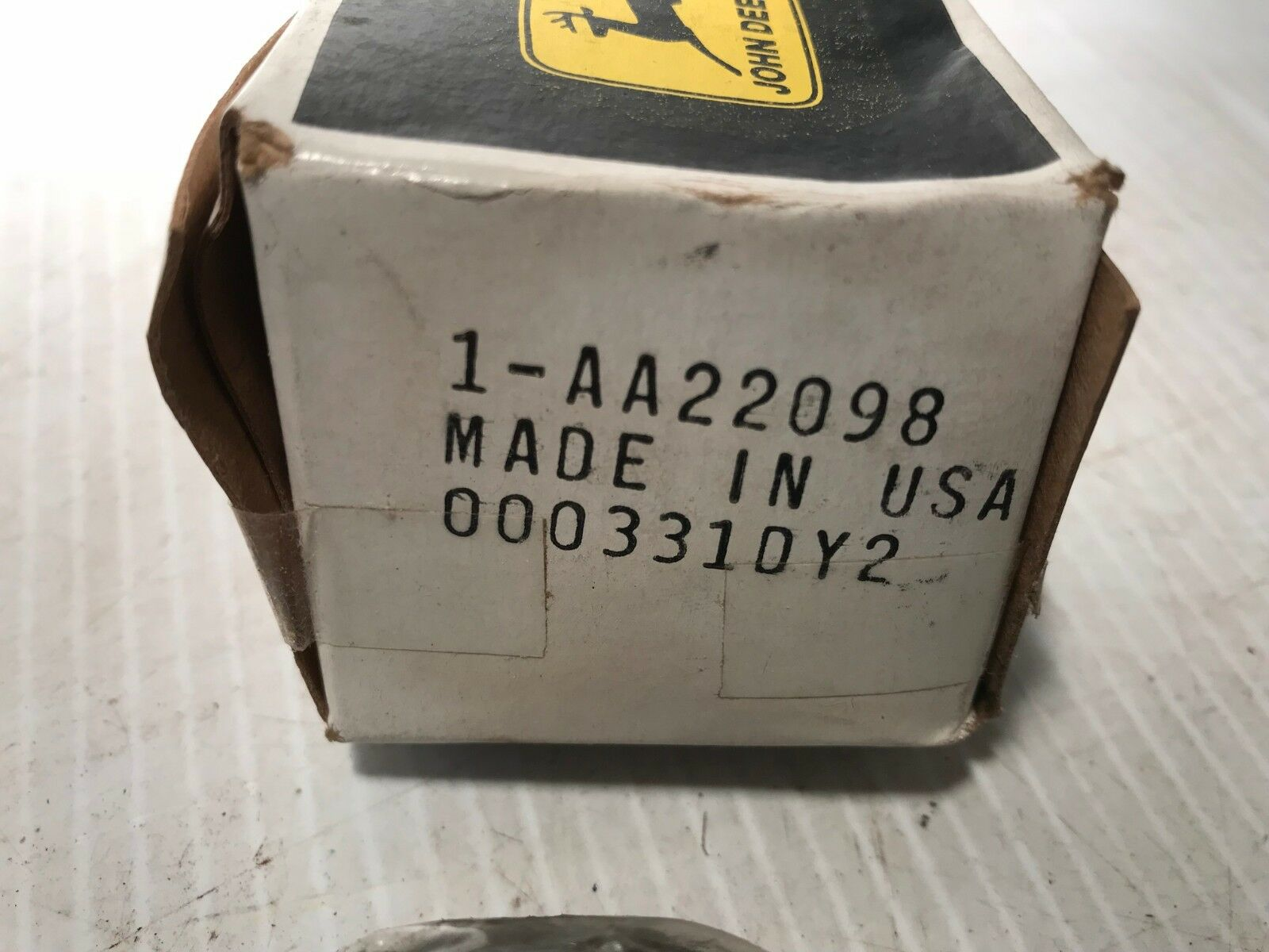 GENUINE JOHN DEERE # AA22098 BALL BEARING