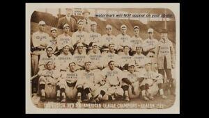 Rare-1915-Babe-Ruth-Team-PHOTO-Boston-Red-Sox-ROOKIE-Fenway-Park-World-Series