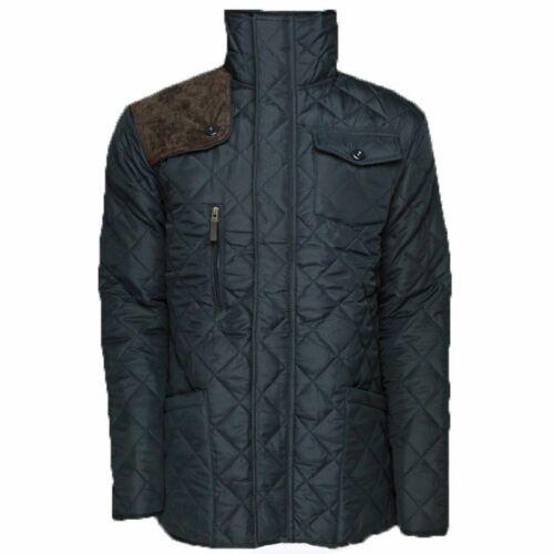 NEW BOYS SOULSTAR BJ PACK CORD QUILTED FUNNEL NECK JACKET 7-13 YEARS