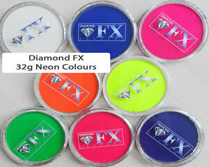 32g-Diamond-FX-DFX-Professional-Face-Paint-NEON-Colours