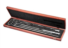 Starrett 124mdz Solid Rod Inside Micrometer Set In Stock