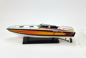 Details about Wellcraft Scarab S-Type Power Boat - VINTAGE Dumas boat