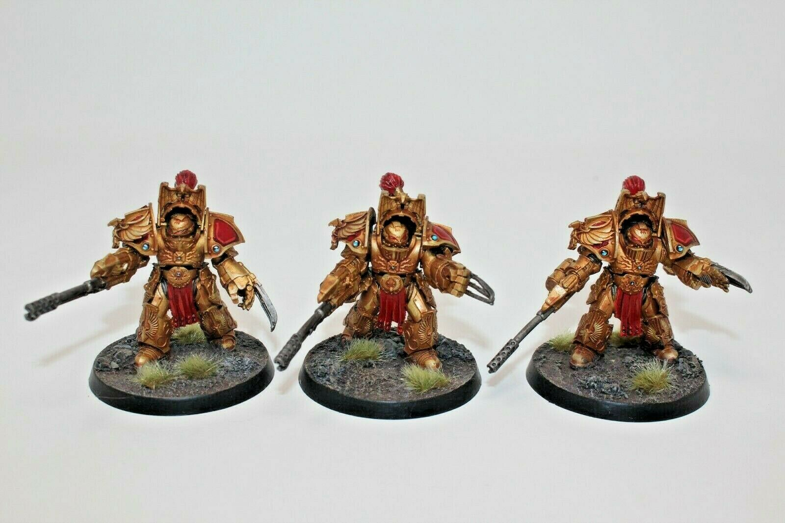 Warhammer Adeptus vigilantes Legio vigilantes Aquilon Terminadores bien pintados