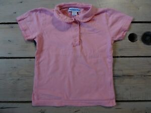 T-shirt-polo-rose-clair-manches-courtes-ORCHESTRA-Taille-5-ans-110-cm