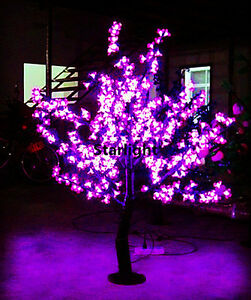 Details About 4 2ft Pink Led Cherry Blossom Tree Light Outdoor Christmas Holiday 360