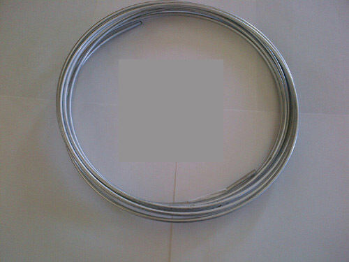 Roll of Zinc Plated 5//16 Tubing Fuel or Transmission 25 ft