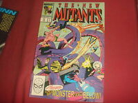 THE NEW MUTANTS #76  X-Men   Marvel Comics - 1989 - NM