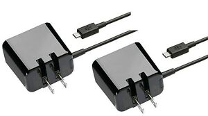 Lot-of-two-2-New-OEM-Micro-USB-Folding-Blade-Wall-Chargers-5V-1-8A-Output