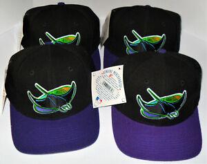 Tampa-Bay-Devil-Rays-Throwback-Snapback-Baseball-Cap-Hat-New-W-Tags