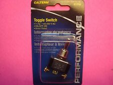 TOGGLE ROCKER SWITCH METAL BAT A/C D/C 15 AMP 12V 125-250VAC 3/4HP MOTOR RATED