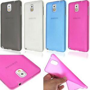 Case Cover For Samsung Galaxy S5 - Snap-On Soft TPU 0.3mm Ultra Thin Clear Matte