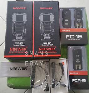 Neewer NW-561 écran LCD Flash Speedlite Kit Pour Canon Nikon d'autres appareils photo DSLR-  afficher le titre dorigine - France - État : Neuf: Objet neuf et intact, n'ayant jamais servi, non ouvert, vendu dans son emballage d'origine (lorsqu'il y en a un). L'emballage doit tre le mme que celui de l'objet vendu en magasin, sauf si l'objet a été emballé par le fabricant d - France