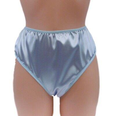 Blue Satin Panties Pics