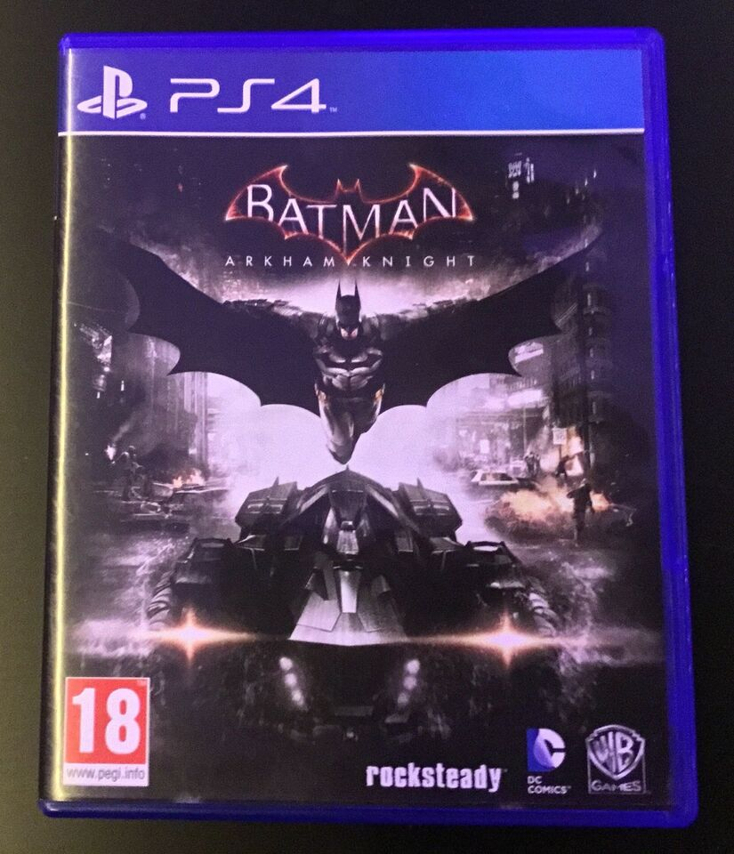 Playstation 4, Batman. Arkham Knight, God