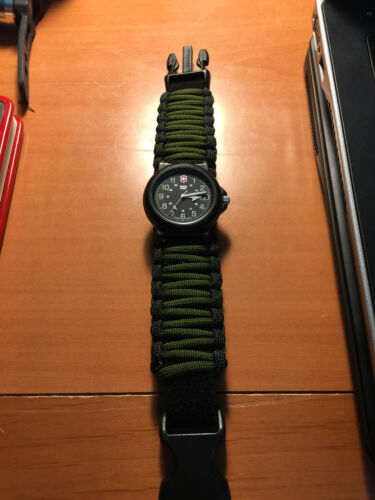 aa27c85f170 Survco Tactical SRV01G Replacement Paracord Watch Band OD Green for sale  online